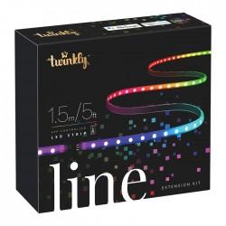 Twinkly LINE Striscia 1.5 m 100 Led RGB BT + Wifi - Extension Kit