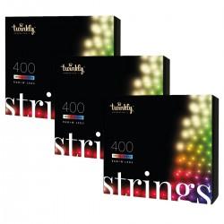 Twinkly STRINGS Luci di Natale Smart 1200 Led RGBW II Generazione