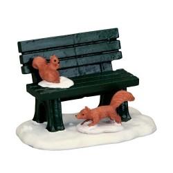 Park Bench In Winter Cod. 54938