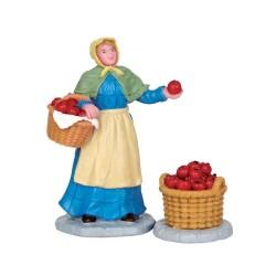 Apple Vendor Set of 2 Cod. 52341
