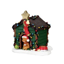 Decorated Light Doghouse Cod. 2808