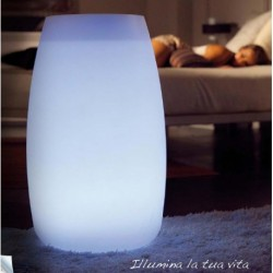 Vaso Bubble Luminoso