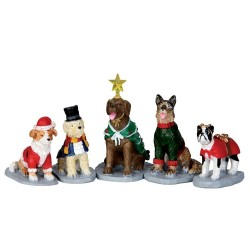 Costumed Canines Set Of 5 Cod. 32126