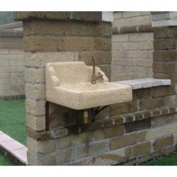 Acquai in pietra ricostruita dadolo - Pilozzo esterno ...