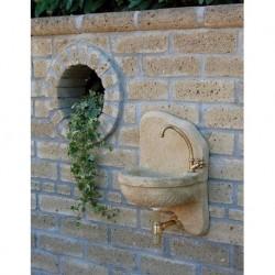 Lavello A Muro In Pietra Ricostruita Nonna Elena Tufo