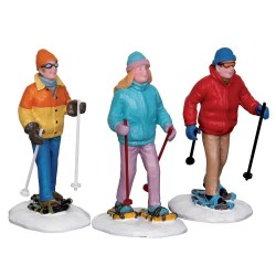 Snowshoe Walkers Set Of 3 Cod. 22033