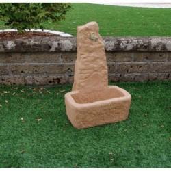 Fontanella In Pietra Ricostruita Santa Fe Tabacco