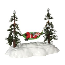 Swinging Santa Battery-Operated (4.5V) Cod. 44191