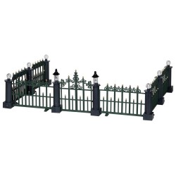 Classic Victorian Fence Set of 7 Cod. 24534