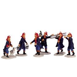 Fireman Set Of 6 Cod. 02446