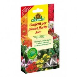 Concime granulare Azet in confetti per piante fiorite (40 confetti) Neudorff