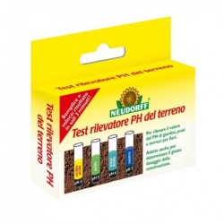 Test Rilevatore PH (confezione con agente reattivo e fialetta per 8 test) Neudorff