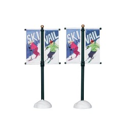 Street Pole Banner Set of 2 Cod. 24496