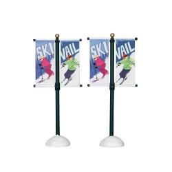 Street Pole Banner Set of 2 Cod. 24496