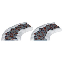 Stone Road - Curved Set Of 2 Cod. 34663