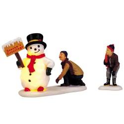 Frosty'S Friendly Greeting Set Of 2 B/O(4.5V) Cod. 04511