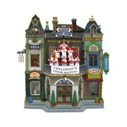 Market Square Christmas Celebration con Alimentatore 4.5V Cod. 35560
