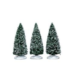 Snowy Juniper Tree Small Set of 3 Cod. 34666