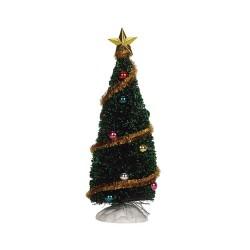 Sparkling Green Christmas Tree Medium Cod. 4493
