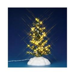 Lighted Pine Tree Medium B/O (4.5V) Cod. 44786