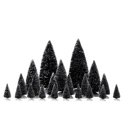 Assorted Pine Trees Set of 21 Cod. 34968
