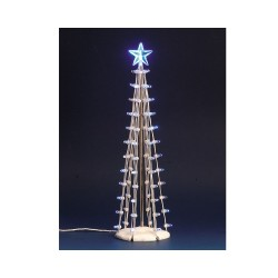 Lighted Silhouette Tree(Blue) L B/O Cod. 74657