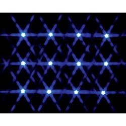 12 Lighted Star String - Blue Cod. 34659