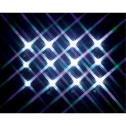 Sparkling Mini Light String Count of 12 B/O 4.5V Cod. 14376