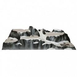 Villaggio di Montagna 120 x 40 x 25 cm