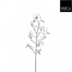 Ramo innevato di Magnolia Artificiale 75 cm