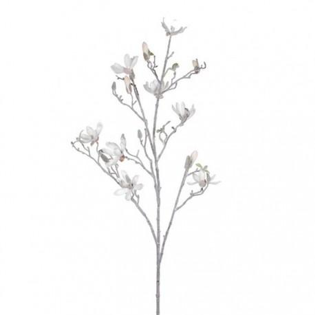 Ramo innevato di Magnolia Artificiale 111 cm