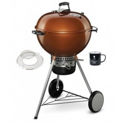 Barbecue a Carbone Master-Touch 57 cm GBS Copper con Tazza Weber Omaggio