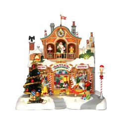 Santa's Workshop With 4.5V Adaptor Cod. 35558