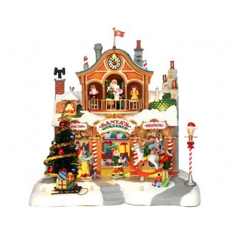 Santa's Workshop con Alimentatore 4.5V Cod. 35558