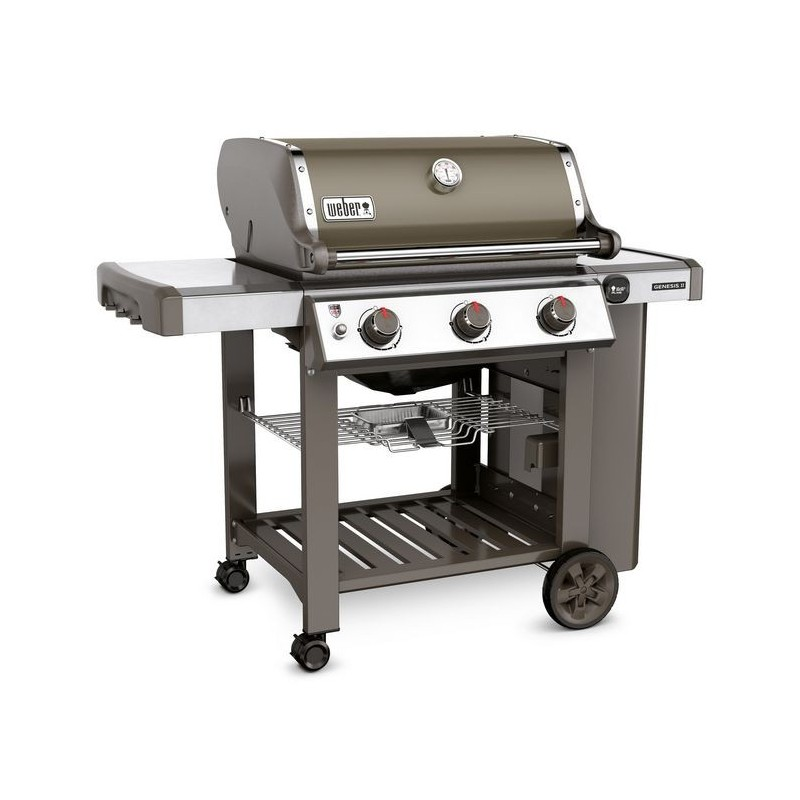 weber original shop barbecue a gas genesis ii e 310 gbs smoke grey. Black Bedroom Furniture Sets. Home Design Ideas