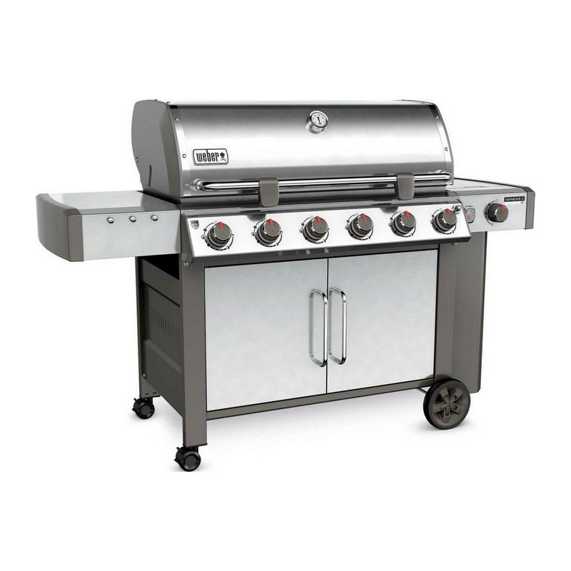 Weber original shop barbecue weber a gas genesis ii lx s for Giordano shop barbecue a gas