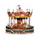 Santa Carousel con Alimentatore 4.5V Cod. 34682