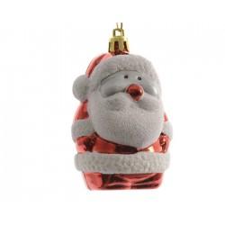Babbo Natale con Glitter da Appendere. Set di 2