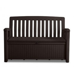 Cassapanca in Resina PATIO BENCH Marrone Keter