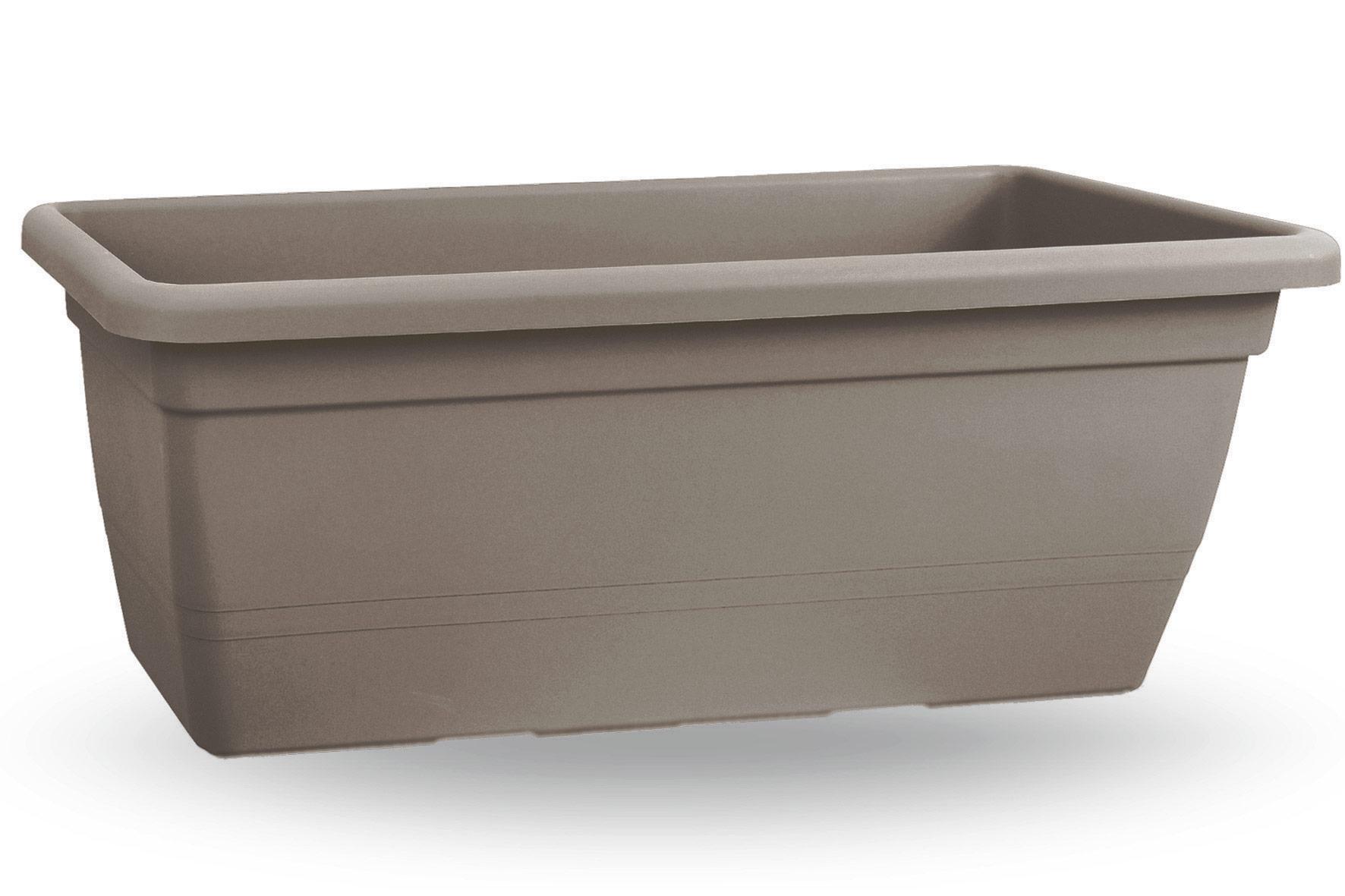 Fioriera anthea cm 60 for Vasi rettangolari plastica