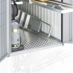 Pavimento in Alluminio per MiniGarage in Metallo Biohort