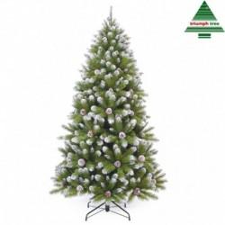 Albero Di Natale Empress Frosted 155 Cm