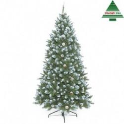 Albero Di Natale Empress Frosted 185 Cm