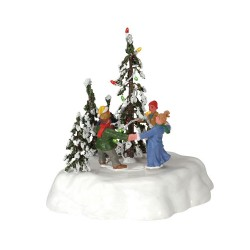 Merry Christmas Tree Battery-Operated (4.5V) Cod. 44190