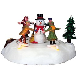 The Merry Snowman Battery-Operated (4.5V) Cod. 84776