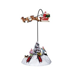 Look There is Santa! con Alimentatore 4.5V Cod. 14429