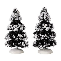 Evergreen Tree Set of 2 Small Cod. 44234