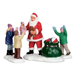 It's Santa! Set of 3 Cod. 52318