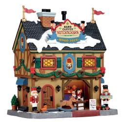 Nutcracker & Wood Toy Carve B/O Cod. 55994