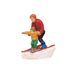Father & Son Skiing Cod. 62169
